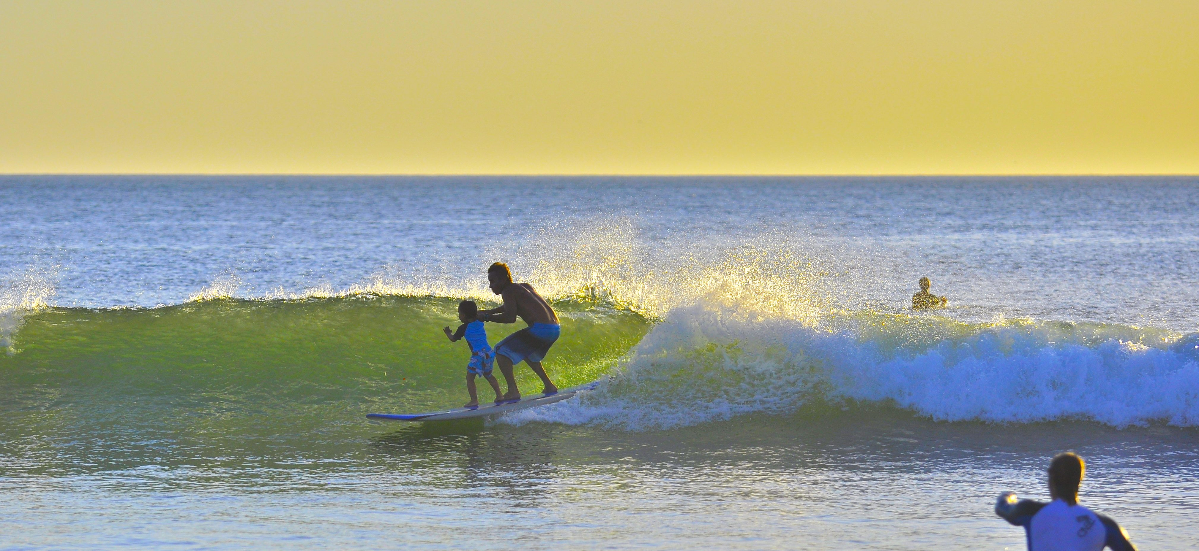Surf Lessons In Playa Grande Costa Rica By Frijoles Locos
