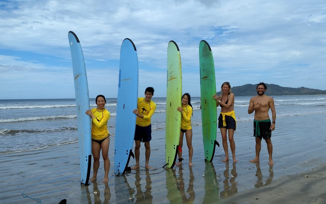 Surf Lessons, Las Catalinas Costa Rica