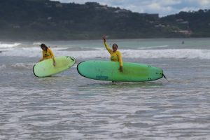 All Smiles Frijoles Locos Playa Grande Costa Rica Surf Lessons
