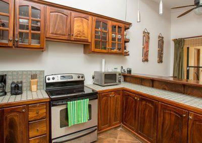 Frijoles Locos Apartments Kitchen