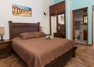 Frijoles Locos Apartments Master Bedroom
