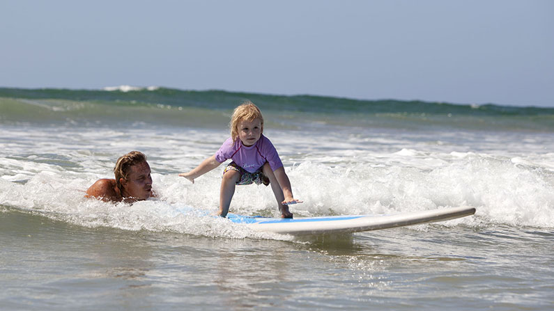 Kids Surf Lessons, Playa Grande