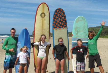 Group Surf Lessons - Day Pass