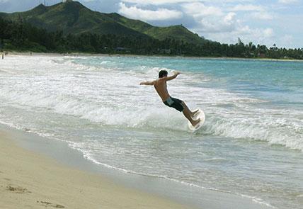 Playa Grande Costa Rica Frijoles Locos Surf Shop Skimboard Rental