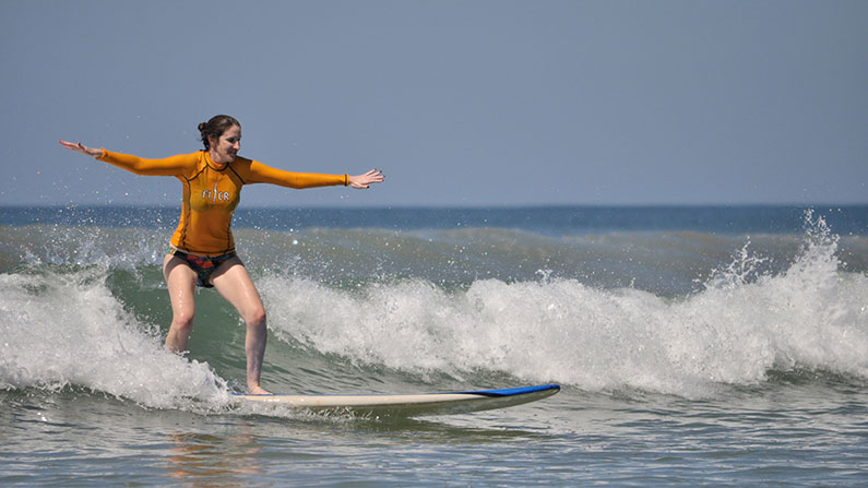 Surf Lesson exhilaration