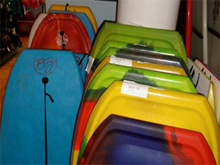 Frijoles Locos Body Board and Boogie Board rentals