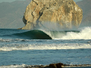 Witch's Rock Surf Spot